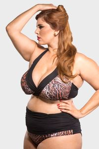 Parte-de-Baixo-Hot-Pants-Cos-Franzido-Plus-Size_T1