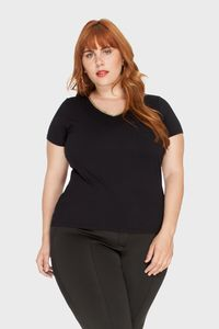 Camiseta-Decote-V-Metalizado-Plus-Size_T1