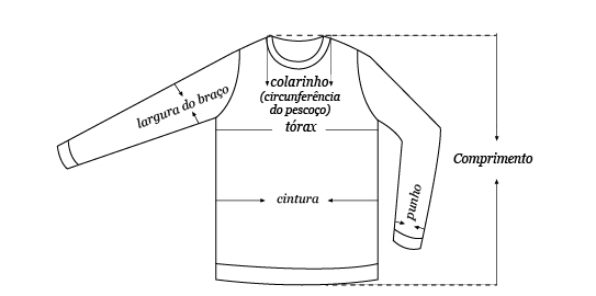 Blusas/Camisetas masculinas
