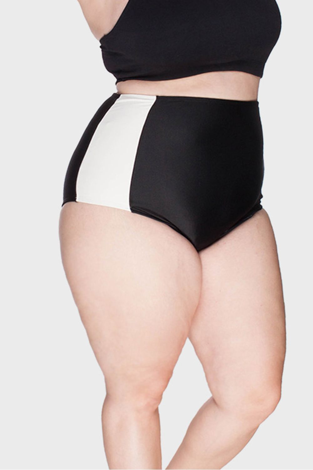 Parte-de-Baixo-Hot-Pants-Faixas-Plus-Size_T1