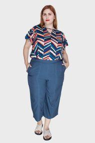 469cfe413 Calça Pantacourt Plus Size | Loja Flaminga