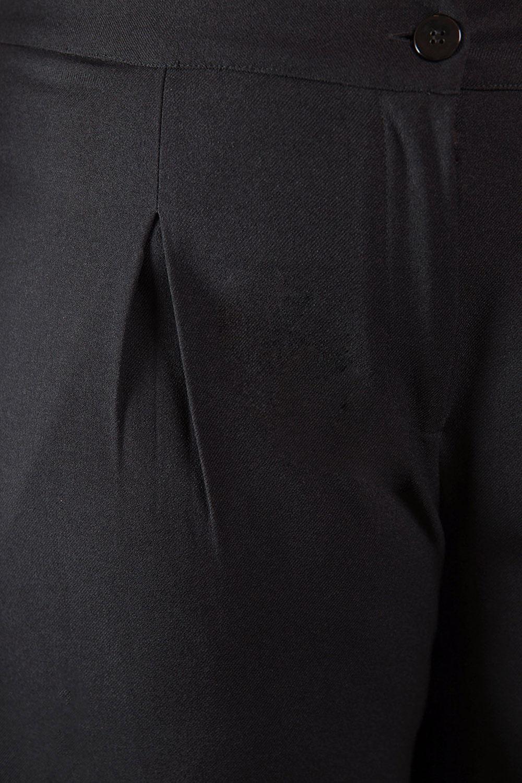 Calça Cropped Soft Wool Plus Size