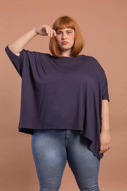 Blusa Ampla Plus Size
