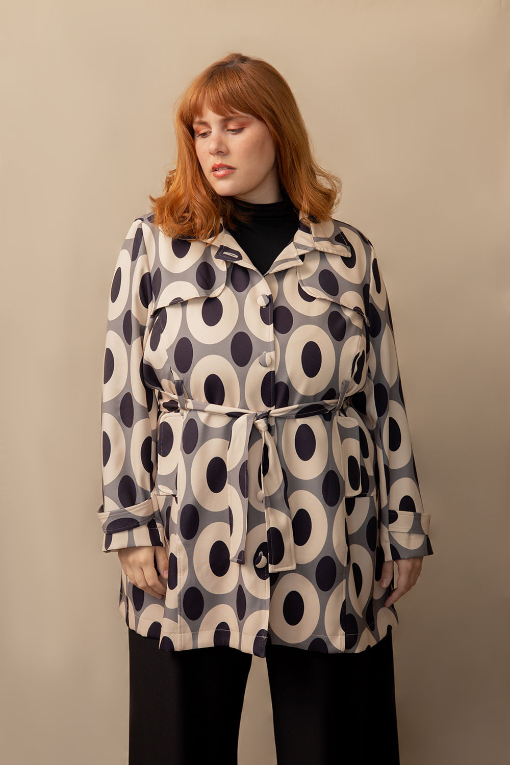 Trench Coat Modernista Plus Size