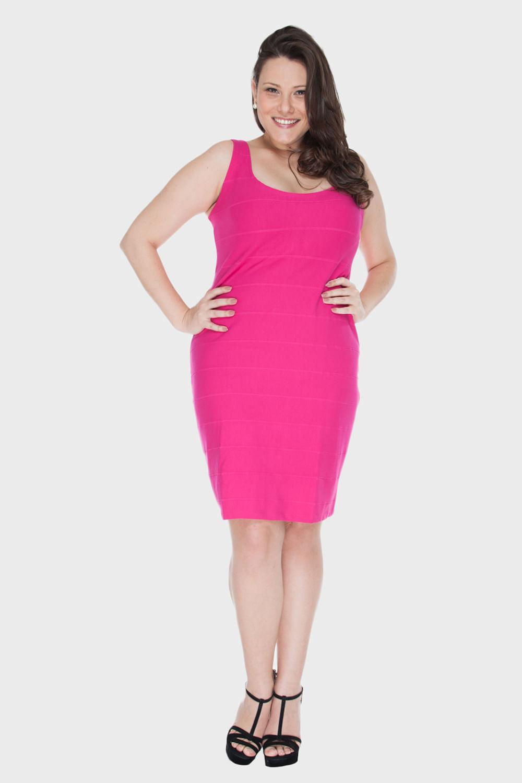 Vestidos para gordinhas rosa de Preta Gil