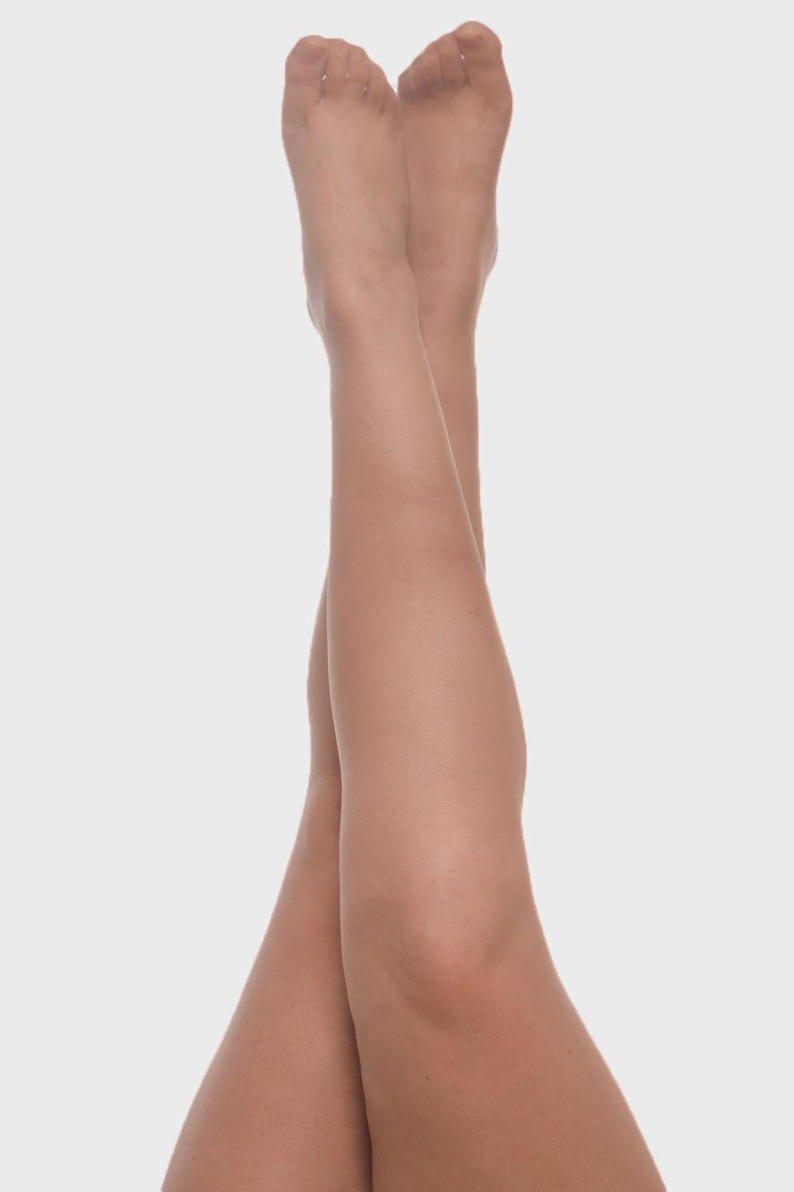 Meia Calça Fio 20 Cacau Plus Size