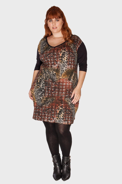 Vestido-Gola-V-Animal-Print-Plus-Size_T1