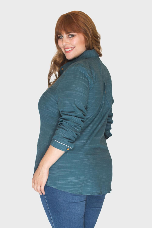 Camisa-Verde-Musgo-Plus-Size_2