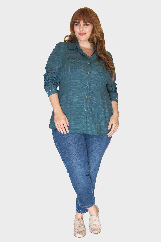 Camisa-Verde-Musgo-Plus-Size_3
