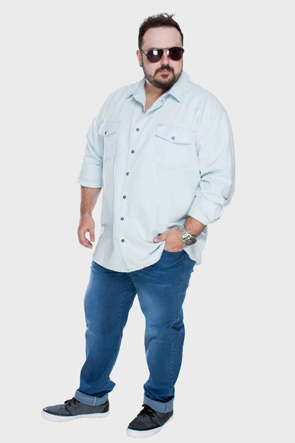 Camisa-Jeans-Bleached-Plus-Size_1